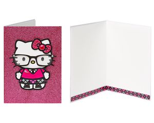 Hello Kitty Birthday Greeting Card Bundle, 4-Count