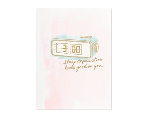 sleep deprivation mother's day card