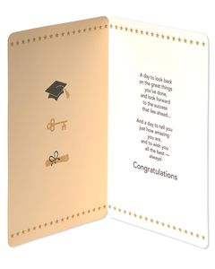 Jumbo All the Best Graduation Card