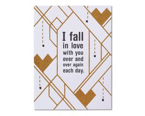 Exhausted Romantic Card