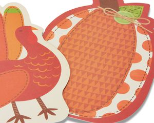 Turkey Thanksgiving Card, 6-Count