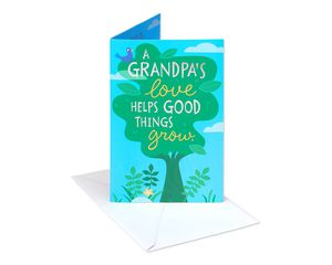 Grow Father's Day Card for Grandpa