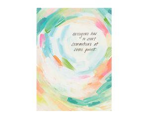 Somewhere Encouragement Card