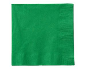 festive green lunch napkins 50 ct