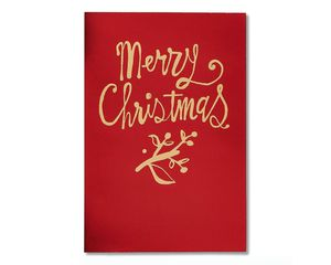 Grateful Christmas Card, 6-Count