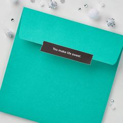 Mint To Be Christmas Card