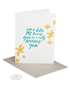 you're amazing mother's day card
