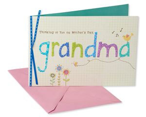 Special and Loved Mother's Day Card for Grandma
