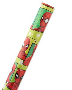 Spider-Man Christmas Wrapping Paper, 40 Total Sq. Ft.