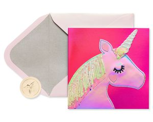 Unicorn Valentine's Day Greeting Card