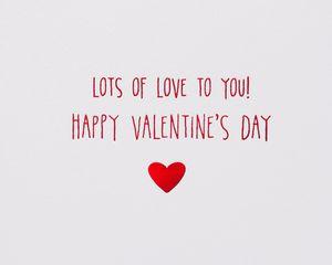 Bear Hug Valentine's Day Greeting Card