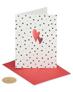 Dots Valentine's Day Greeting Card
