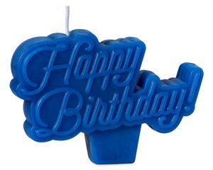 Happy Birthday Candle, 1-Count