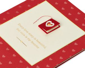 Love Story Romantic Anniversary Greeting Card