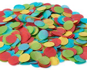 Colorful Round Tissue Confetti