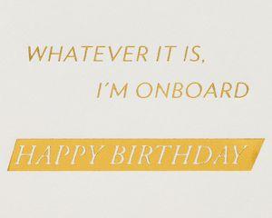 Midlife Crisis Funny Birthday Greeting Card