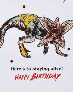 Stranger Things™ Demodog Hunter Birthday Card