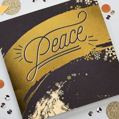Peace Greeting Card, 6-Count - Christmas, Happy Holidays, Happy New Year, Hanukkah