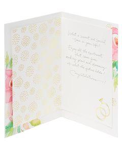 Kathy Davis Floral Engagement Card