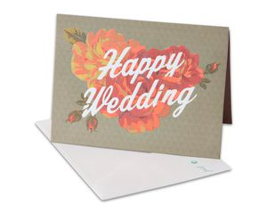 Moment of Perfect Wedding Congratulations Card