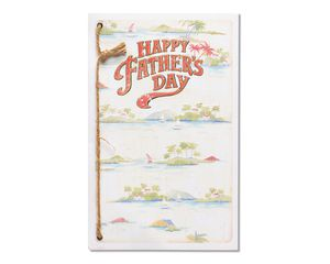 Beach Father's Day Card