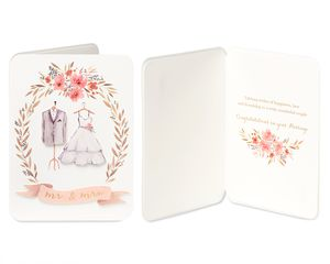 Happy Couple Wedding Greeting Card Bundle, 2-Count