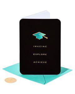 Achieve Graduation Greeting Card