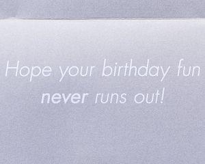 Running Shoes Birthday Greeting Card
