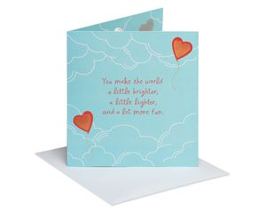 You Make The World Pop-Up Valentine's Day Card