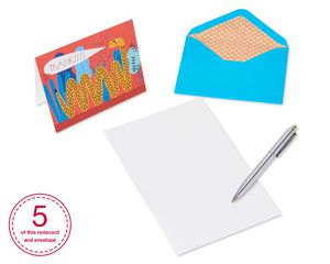 Animals Boxed Thank You Cards and Envelopes, 20-Count