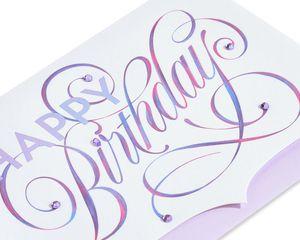 Elegant Happy Birthday Birthday Greeting Card