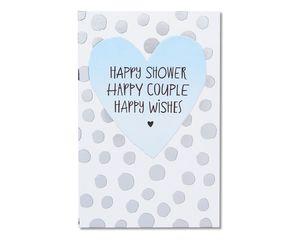 happy forever bridal shower card