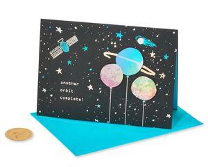 Orbit Complete Birthday Greeting Card