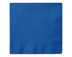 royal blue lunch napkins 50 ct
