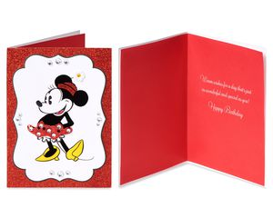 Mickey and Minnie Mouse Blank Card Bundle, 3-Count