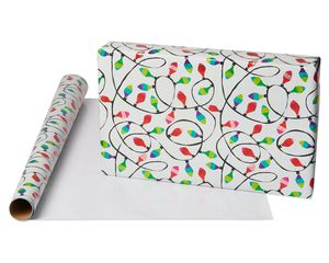 String of Lights Holiday Wrapping Paper