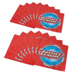 Justice League 16-Count Lunch Napkins, Party Supplies