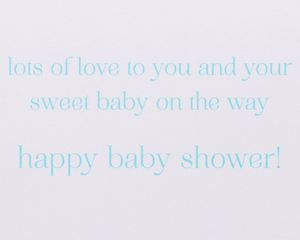 Cupcakes New Baby Greeting Card