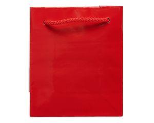 mini red gift bag