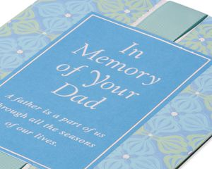 In Memory of Your Dad Sympathy Card