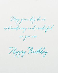 Sandcastle Birthday Greeting Card
