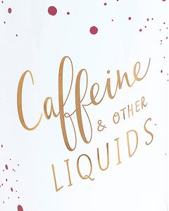 caffeine & other liquids travel mug