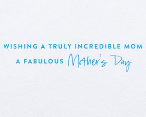 Floral Shoes Mother's Day Card