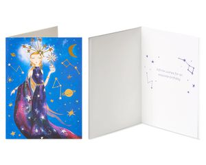 Celestial Birthday Greeting Card Bundle for Her, 2-Count