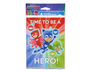 PJ Masks Invite and Thank-You Combo Pack, 8 Count