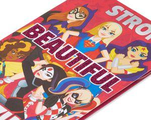 DC Super Hero Girls Valentine's Day Card