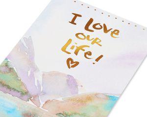 Kathy Davis Love Our Life Romantic Card