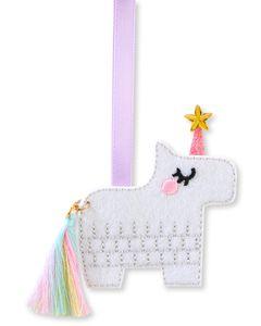 Unicorn Pinata Ornament Birthday Card