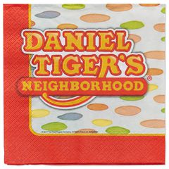 Daniel Tiger 16-Count Lunch Napkins