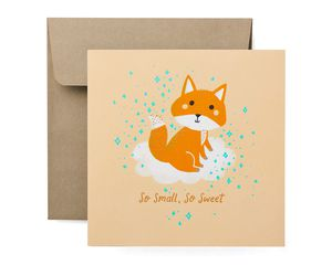 So Sweet Baby Congratulations Card